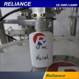 Volle automatische salzige nasaler Spray-füllende mit einer Kappe bedeckende Maschine