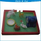 Надувные спортивные игры надувной игровой площадкой Klki-005