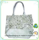 La mode des sacs en toile de coton de la poignée personnalisé pour la promotion