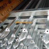 Barriera di sicurezza di alluminio saldata superiore del germoglio