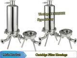 Einzelnes Kassetten-Filtergehäuse-Filtergehäuse
