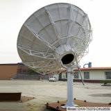 3.7m Rx-Tx Vsatのアンテナ(手動)