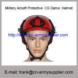 Casque protecteur militaire bon marché en gros de jeu de CS de sports de la Chine Airsoft