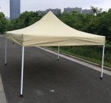 3x3m Tan pop up d'acier de plein air Gazebo tente de pliage