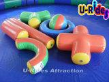 Heet het spelen opblaasbaar het waterstuk speelgoed van zwembadspelen voor binnen zwembad
