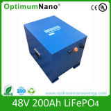 Nachladbarer 48V 200ah Batterie-Satz mit BMS