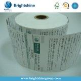 type de papier papier de réception de courant ascendant de 80X80mm de caisse comptable