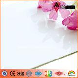 最新の建築材料の光沢度の高い白ACP中国製