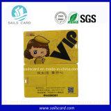 Carte non standard en plastique de PVC de qualité
