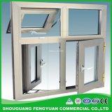 Vetratura doppia personalizzata UPVC/PVC Windows, vetro di finestra poco costoso della tenda