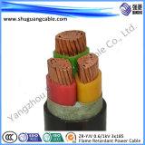 Baixos tamanhos blindados Sheathed/Insulated/PVC do cabo de Voltage/XLPE