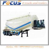 3 essieux sèchent la remorque de camion-citerne de la colle de transport de pouvoir semi