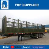 Rimorchio della parete laterale del titano semi in rimorchio del camion con 3 assi da vendere
