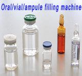 Farmacéutica Bkbg Vial de máquina de llenado de botellas y conectar la máquina