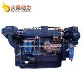Weichai Wd10/Wd615 200HPディーゼル海洋エンジン2100rpmのボートエンジン