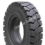 Nouveau pneu solide élastique 16x6-8 (16*6 à 8) de l'industrie des pneus de coussin