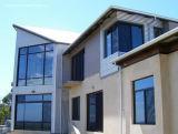 La protección del sol ventanas corredizas de aluminio con cristal templado