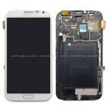 Экран касания LCD запасных частей мобильного телефона на примечание 2 N7100 7105 галактики Samsung