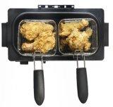 Manual de Control de 3L caja de acero inoxidable freidora eléctrica para Chicken