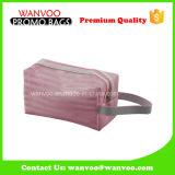 Sac multifonctionnel imperméable PVC Clear Makeup avec plastiques Fermeture à glissière