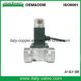Elettrovalvola a solenoide in lega di zinco più di alta qualità del gas di vendita di fabbricazione calda della Cina 24 V
