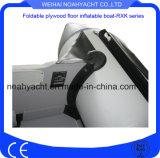 판매를 위한 합판 지면을%s 가진 2017년 Weihai 공장 0.9mm-1.2mm PVC/Hypalon 팽창식 어선