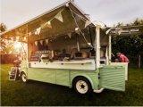 販売のための旧式な食糧トラックの/Vintageの食糧トレーラーシトロエンヴァン