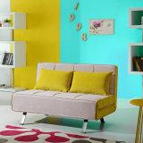 Mobiliário Sofá cama de tecido moderno para sala de estar