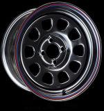 17X7 (4-100) Wit Wiel Daytona
