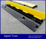Heavy Duty Rubber Cable & Wire Protector Ramp Interlocking