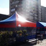 Het Geteerde zeildoek van de Dekking van de Machine van het zonnescherm voor Tent