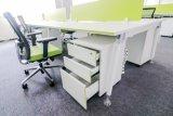 Stazione di lavoro bianca Desk-PS-40tt-P6 dell'ufficio del calcolatore del personale di colore di buoni prezzi