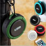 Haut-parleurs stéréo sans fil portatifs de Waterpfoor Bluetooth de modèle de propriétaire mini (BS-C6)