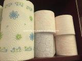 Полноавтоматический крен бумаги полотенца кухни машины туалетной бумаги слоения клея цвета делая машину