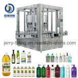 Machine de remplissage liquide de piston de pétrole automatique avec la vitesse