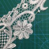 Collare accessorio del merletto del ricamo del tessuto di cotone dell'indumento del Crochet di modo di promozione