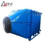 Les déchets de la fumée du système de récupération de chaleur des échangeurs de chaleur et d'économiseurs avec réducteurs