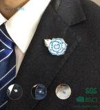 Portsdown 궁도 클럽 꽃 모양 접어젖힌 옷깃 Pin (XD-B33)