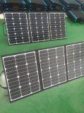 Panneau solaire pliable Couverture 120W pour le camping avec caravane