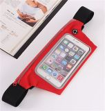 Sport Touch Screen Cell Phone Cintura Belt Pack / saco para correr