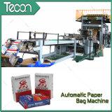 Bolsa de papel automática del cemento del certificado del CE que hace la máquina