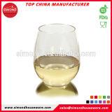 Caja fuerte plástica inastillable sin pie irrompible del lavaplatos del vidrio de vino de Tritan de los vidrios de vino