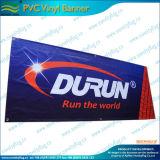 Il doppio ha parteggiato bandiera stampata dei manifesti del PVC del vinile della maglia (M-NF26P07009)