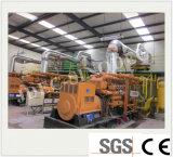 La combinación de calor y potencia 500kw de Electricidad Gas Natural, generador de biogás