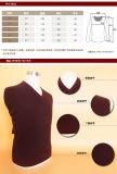 Свитер/одежда/одежда/Knitwear втулки пуловера шеи шерстей/кашемира v яков длинние