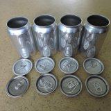 Extremidade aberta fácil de alumínio das tampas 206# 58mm da lata de bebida do produto comestível