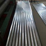 Chapa de aço galvanizada corrugada de Gi/PPGI Cuilding bobina material