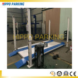 Elevación/coches del estacionamiento del coche de 4 columnas que estacionan el sistema de la elevación