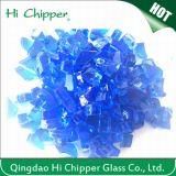 Fire Pit Glass Cobalt Blue