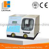 Q-100b 100mm Scherpe LCD van de Diameter Automatische/Hand Scherpe Machine van het Specimen van de Metallografie van de Vertoning